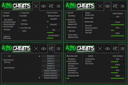 функции Pro CSGO Cheats