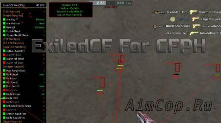 ExiledCF For CFPH