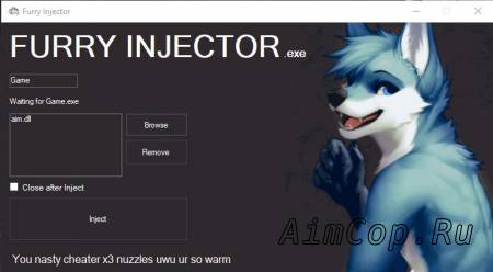 furry injector