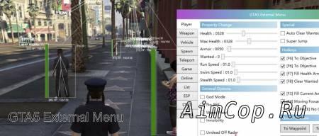 GTA5 External Menu
