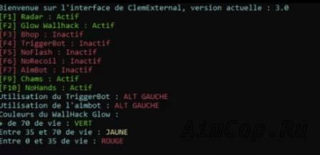 ClemRebuild CSGO External Hack