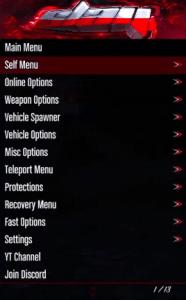 Slay Free GTA 5 Online Mod Menu